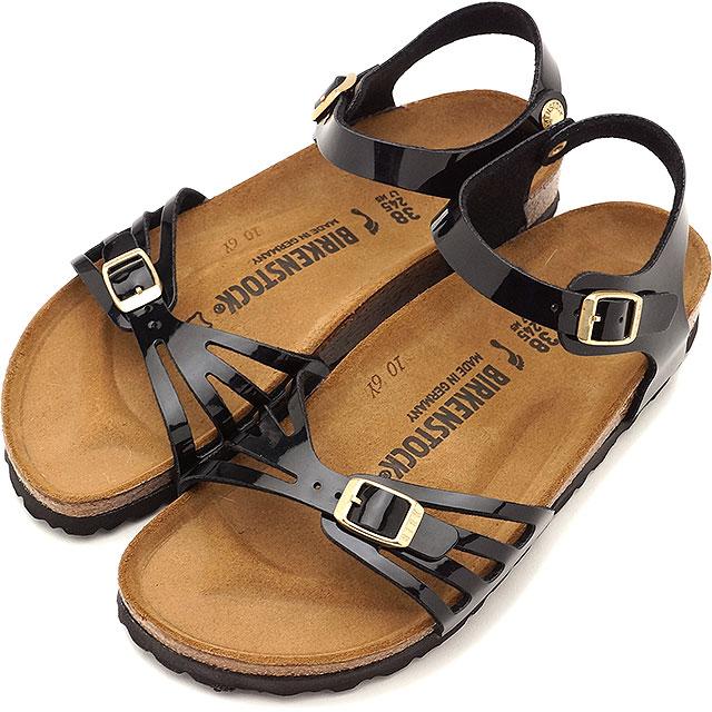 BIRKENSTOCK ビルケンシュトック レディース BALI バリ パテント ブラック 靴 (GC1006179 SS17)【コンビニ受取対応商品】