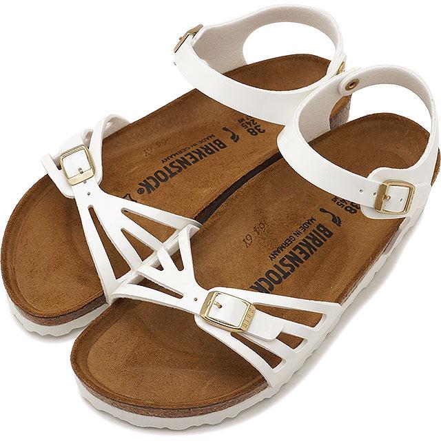 BIRKENSTOCK ビルケンシュトック レディース BALI バリ ホワイト パテント 靴 (GC1006181 SS17)【コンビニ受取対応商品】