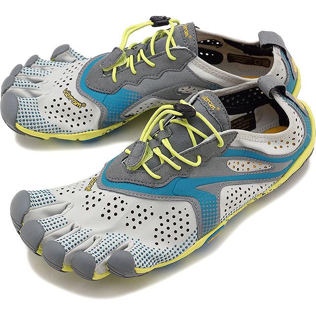 Vibram FiveFingers ビブラムファイブフィンガーズ メンズ ランニングモデル MNS V-RUN OYSTER ビブラム ファイブフィンガーズ 5本指シューズ ベアフット 靴 [17M7003]