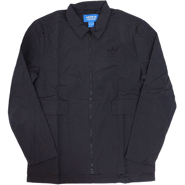 adidas Adidas originals apparel men NYC COACH JACKET coach jacket black (BK0036 SS17)