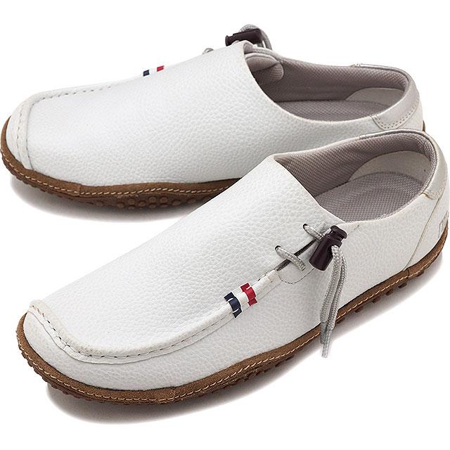 【即納】コンカラー オアシス conqueror メンズ シューズ OASIS レザー/ホワイト 靴 [130 SS19