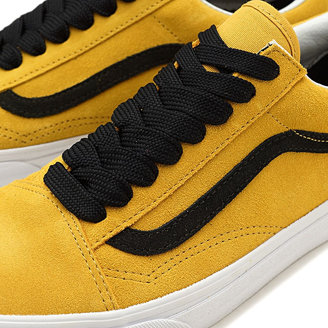 f9e10d7cf14 VANS vans men sneakers shoes Oversized Lace Old Skool オーバーサイズドレースオールドスクール tawny  olive black gold (VN0A38G1R0Y SS18)