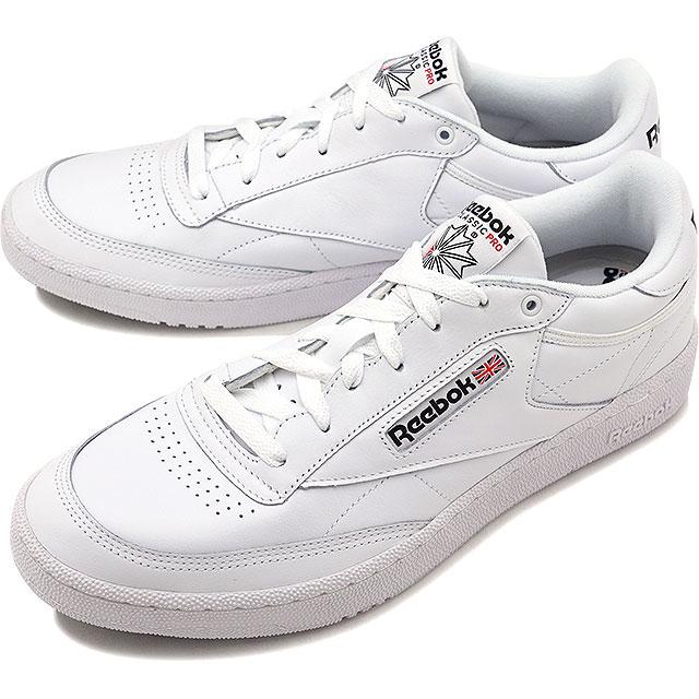 Reebok CLASSIC Reebok classical music sneakers shoes CLUB C 85 PRO club C 85  pro white   black (CM9430 SS18) f872c22873551