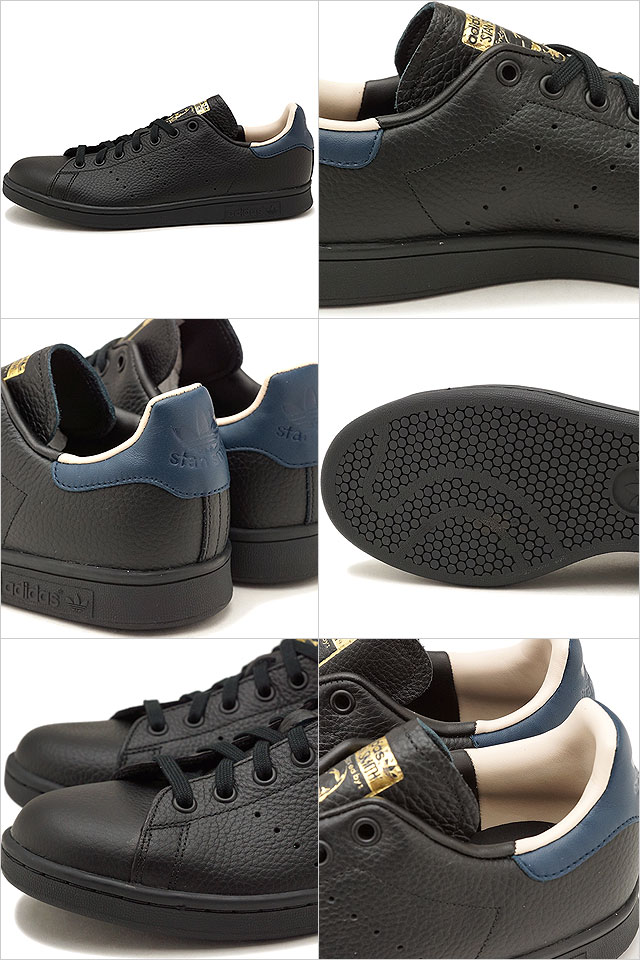 the best attitude 96a6c a4c3c adidas Adidas sneakers shoes men originals STAN SMITH Stan Smith core black  / core black /C navy (CQ2203 SS18)