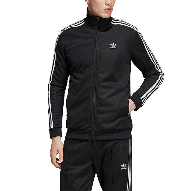 adidas Adidas jersey men BECKENBAUER TRACK TOP Beckenbauer truck top jacket adidas Originals Adidas originals [EMX22CW1250 CW1252 SS18]