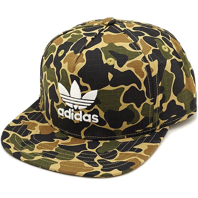 d63c2386122 adidas Adidas hat men Lady s CAMO SNB CAP duck snapback cap adidas  Originals Adidas originals (EKQ16 CE4872 SS18)