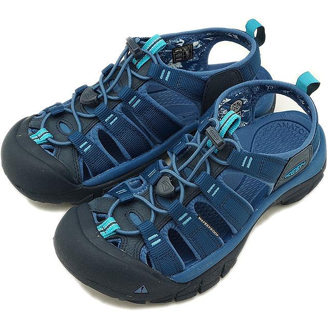 2a5ef1dc8720 KEEN Kean sandal Lady s W NEWPORT ECO Newport Eco VICTORIA D.BLUES (1018820  SS18)