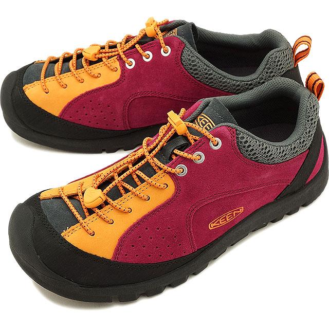 【20%OFF】【在庫限り】KEEN キーン ジャスパー スニーカー 靴 メンズ M JASPER ROCKS SP ジャスパー ロックス エスピー Red Plum/Apricot (1018896 SS18)【e】【ts】【コンビニ受取対応商品】