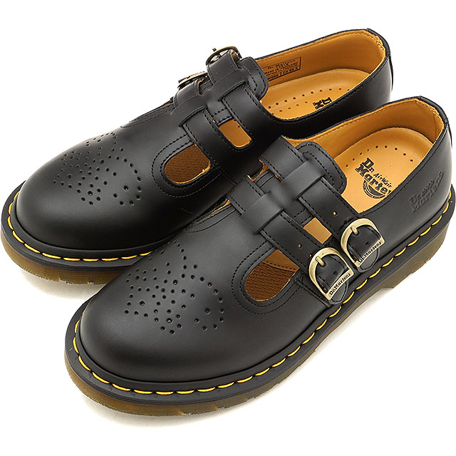 Dr.Martens ドクターマーチン ブーツ 8065 MARY JANE メリージェーン ダブルストラップ BLACK ブラック レディース 靴 [12916001 SS18]
