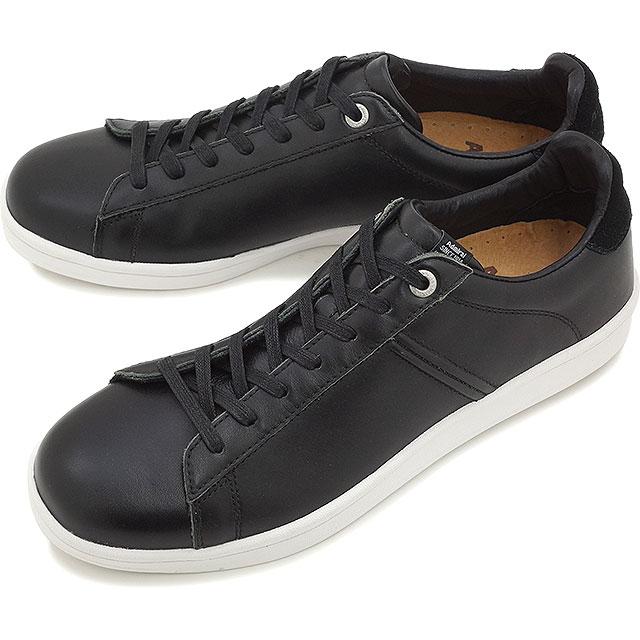 海军上将帕克兰德男装女装运动鞋海军上将帕克兰黑色/光滑 [SJAD1518-0277 SS16]