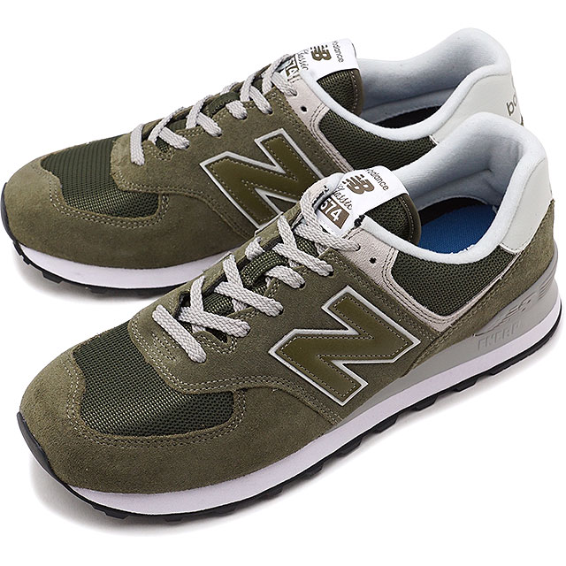 online retailer 6ebb5 0fdad newbalance New Balance men Lady's D Wise ML574 EGO olive sneakers shoes  [ML574EGO SS18]