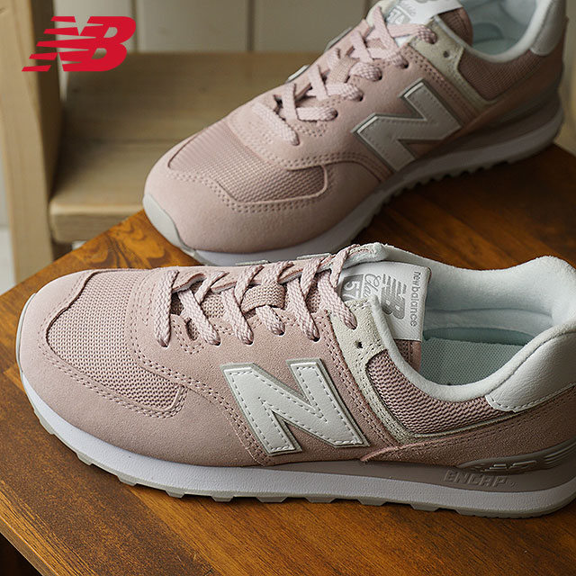 newest collection 92961 a7717 newbalance New Balance Lady's B Wise WL574 ESP pastel pink sneakers shoes  [WL574ESP SS18]
