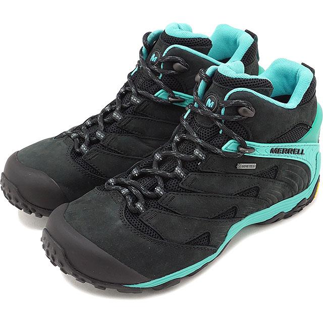 MERRELL メレル レディース スニーカー 靴 WMN CHAMELEON7 MID GORE-TEX カメレオン7 ミッド ゴアテックス ICE (98242 SS18)【コンビニ受取対応商品】