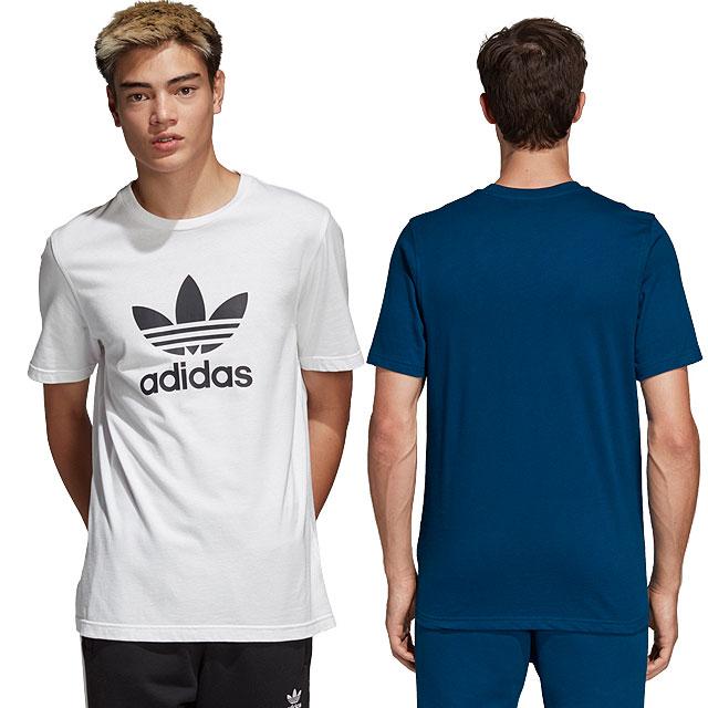 adidas Adidas T-shirt men TREFOIL TEE トレフォイル T-shirt adidas Originals  Adidas originals (EKF76 EKF75 EWD57 CW0709 SS18) c1af383ac2