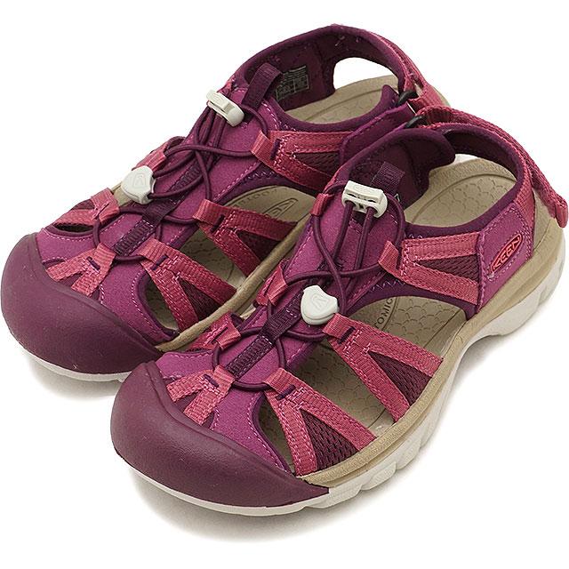 KEEN キーン サンダル 靴 レディース W VENICE II H2 ベニス ツー エイチツー Grape Kiss/Red Violet (1018850 SS18)【コンビニ受取対応商品】