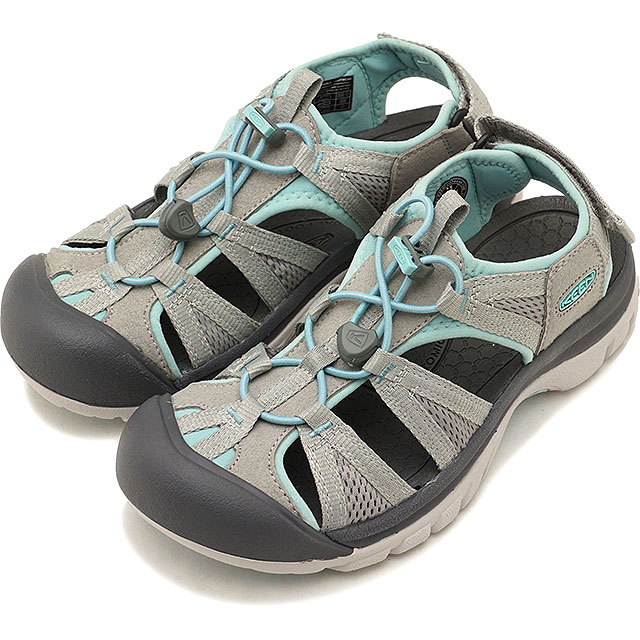 2a9777f5b57 KEEN Kean sandal Lady's W VENICE II H2 Venice two H two Paloma/Pastel  Turquoise ...