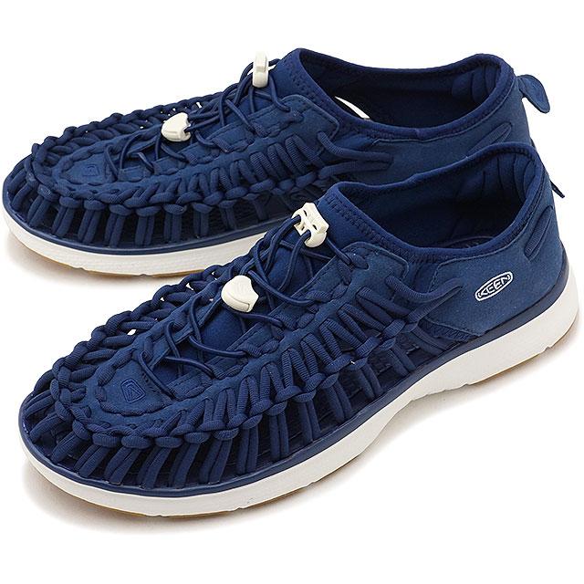 KEEN キーン ユニーク スニーカー 靴 サンダル 靴 メンズ M UNEEK O2 ユニーク オーツー E.Blue/H.Gold [1018715]
