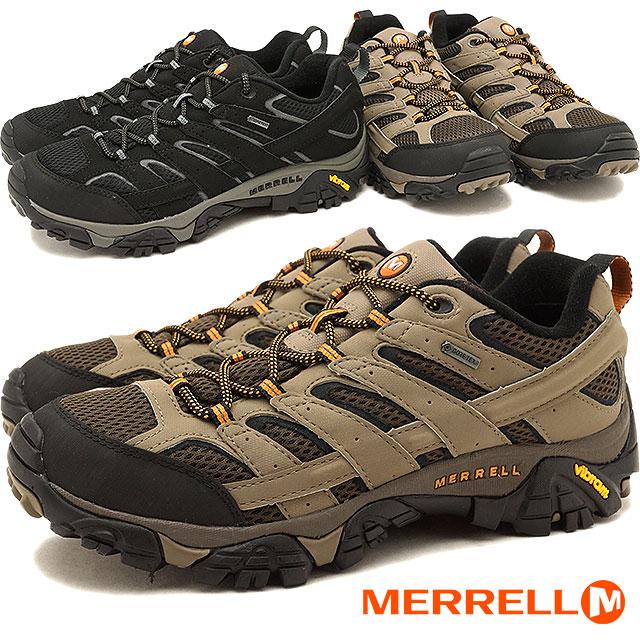 【返品・サイズ交換可】メレル モアブ2 ゴアテックス メンズ MERRELL MOAB 2 GORE-TEX MNS トレッキングシューズ スニーカー 靴 06035 06037