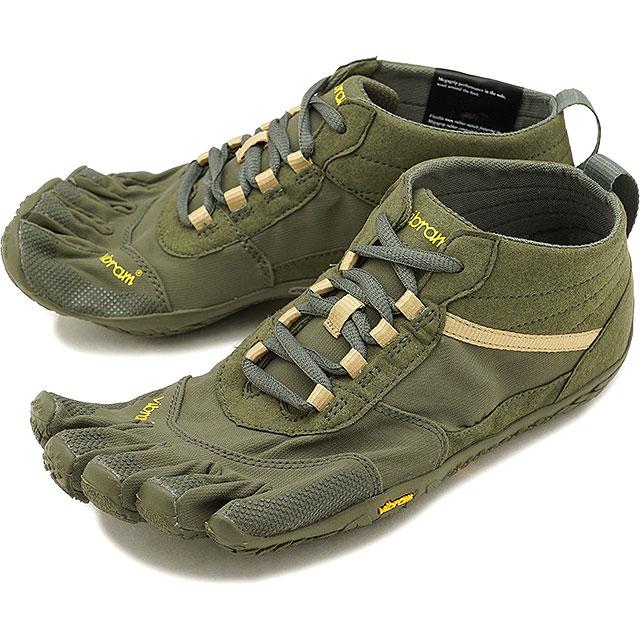 Five finger shoes V TREK base up foot MilitaryDark Grey shoes for vibram five fingers men Vibram FiveFingers hiking outdoor casual clothes [18M7402
