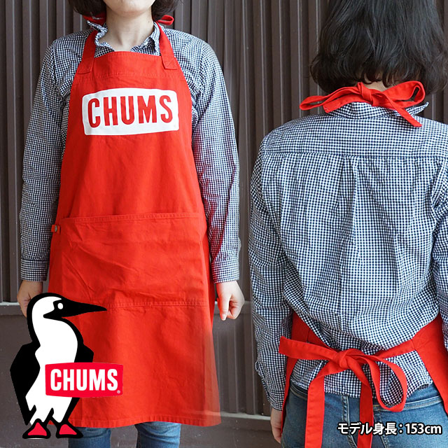 CHUMS チャムス キャンプエプロン Boat Logo Apron ボート ロゴ エプロン (CH09-1089 SS18)