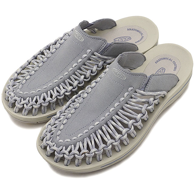 8ee5e87c72b6 KEEN Kean unique sandal Lady s W UNEEK SLIDE unique slide Dapple Grey Vapor  (1018738 SS18)