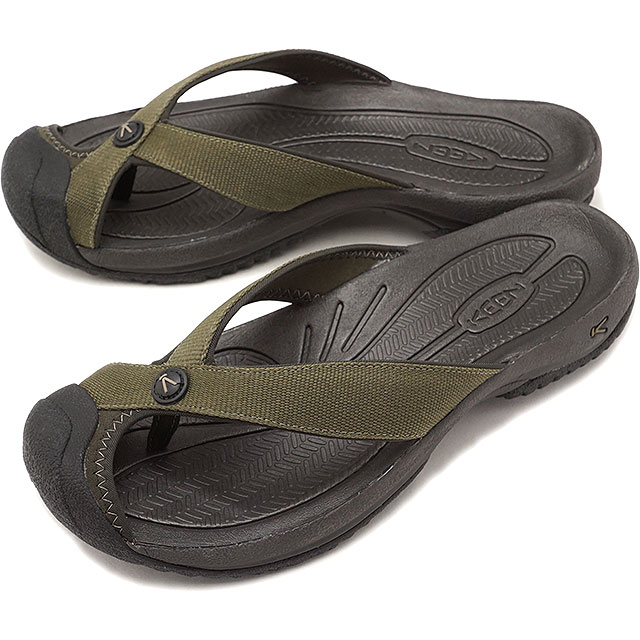 17c3dd5ba82 KEEN Kean sandal men M WAIMEA H2 ワイメアエイチツー Dark Olive Black Olive (1019212  SS18)
