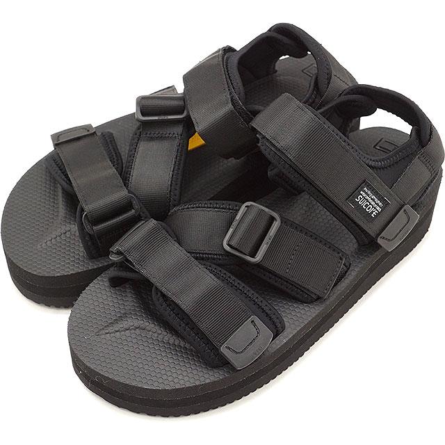 【即納】SUICOKE スイコック サンダル 靴 レディースKISEE-VPO 厚底 ビブラムソールサンダル 靴 BLACK ブラック [OG-044VPO SS18]