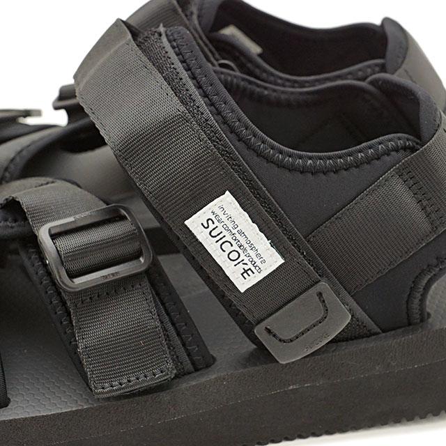 2cb29074e401ed ... Sui cook SUICOKE strap sports sandals vibram KISEE-V shoes men Lady s  BLACK ...