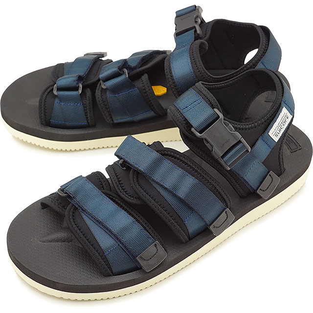 e8e40620f4a1 Sui cook SUICOKE strap sports sandals vibram GGA-V shoes men Lady s NAVY  (OG-052V SS18)
