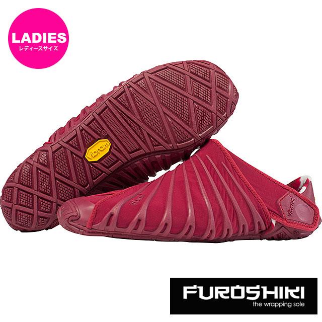 ビブラム フロシキ シューズ レディース Vibram FUROSHIKI shoes スニーカー ビブラムソール 靴 BEET RED [18WAD02 SS18]