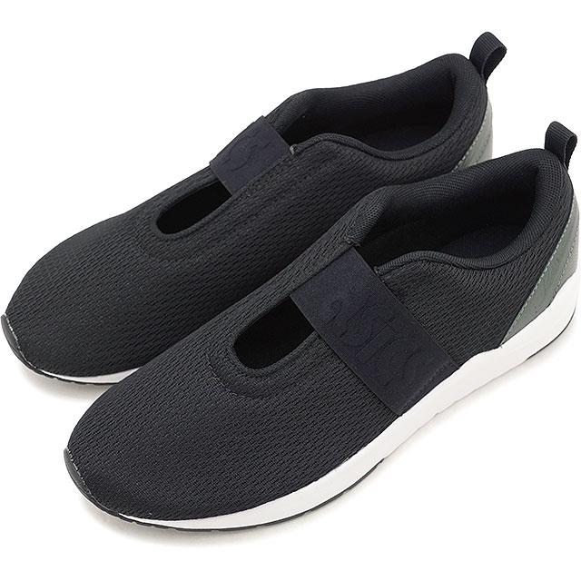 43c2c74f1373 asics TIGER ASICS tiger sneakers shoes Lady s GEL-LYTE KOMACHI STRAP gel  light Komachi strap BLACK BLACK (H8C8N-9090 SS18)