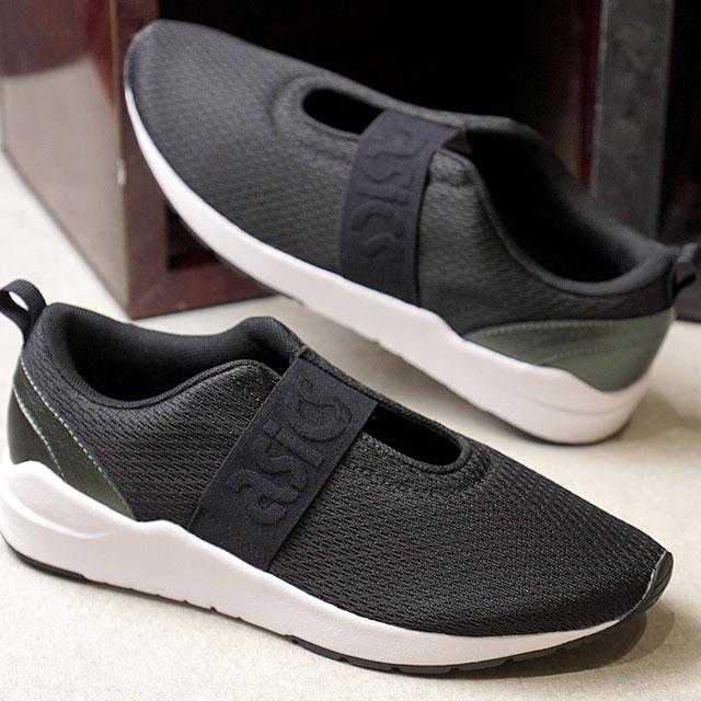 f0cd1a494aa7 asics TIGER ASICS tiger sneakers shoes Lady s GEL-LYTE KOMACHI STRAP gel  light Komachi strap BLACK BLACK (H8C8N-9090 SS18)