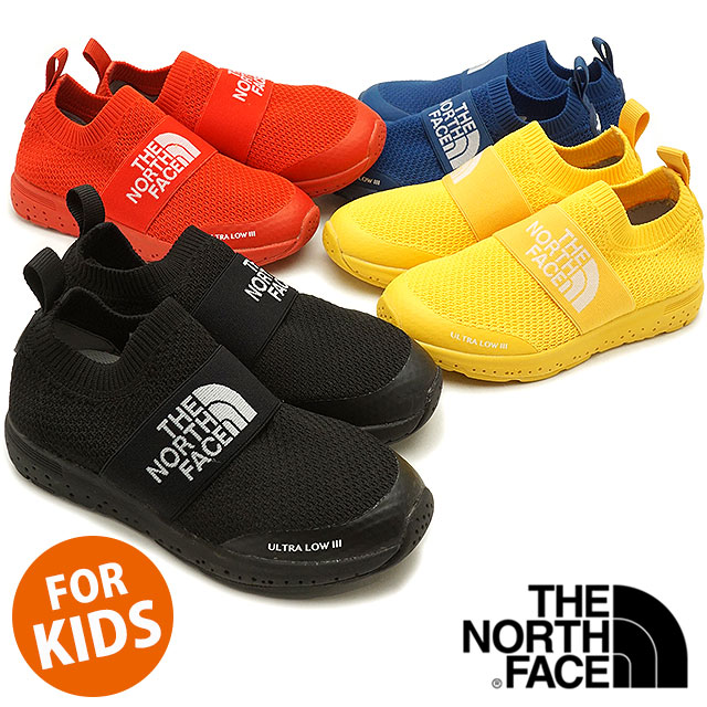 2b9a31af0 THE NORTH FACE the North Face kids sneakers shoes K Ultra Low III kids  ultra low 3 slip-ons (NFJ51847 SS18)