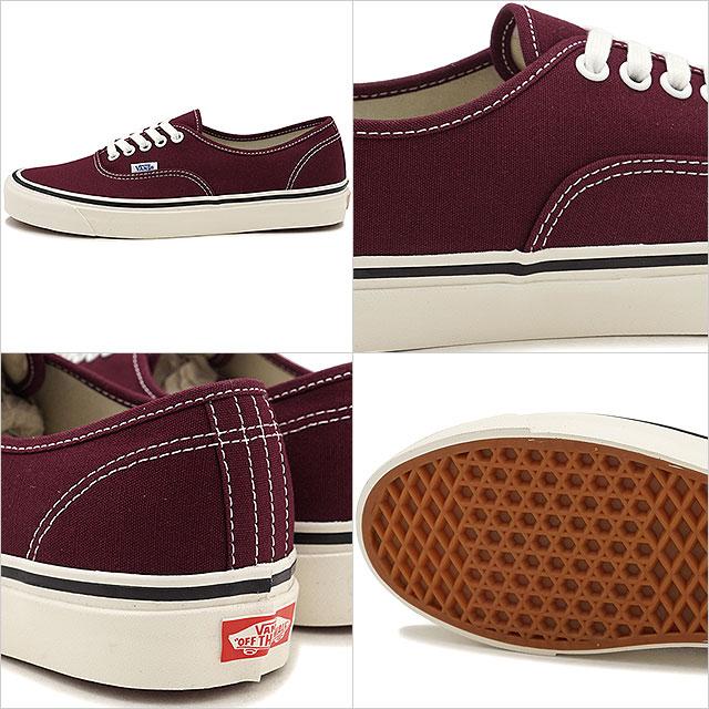 38c2830e1f 44 VANS vans men sneakers shoes Anaheim Factory Authentic 44 DX Anaheim  authentic DX og burgundy bar Gandhi (VN0A38ENQA6 SS18)