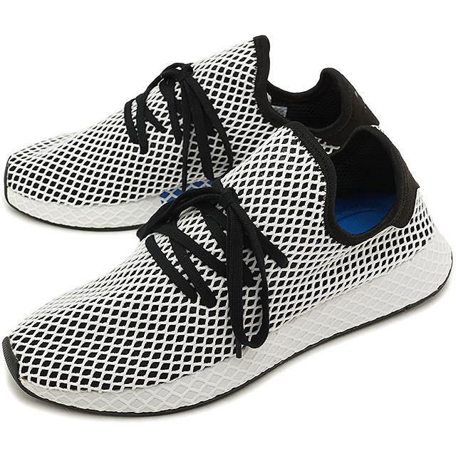 info for eb546 af006 adidas Adidas sneakers shoes men originals DEERUPT RUNNER ディーラプトランナーコアブラック    core black  R white (CQ2626 SS18)