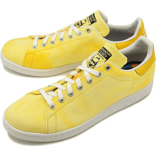 7b3cbd3e53579 adidas Adidas sneakers shoes men originals PW HU HOLI Stan Smith Farrell  Williams Stan Smith R white  R white   yellow (AC7042 SS18)