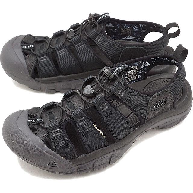 【即納】【限定モデル】KEEN キーン サンダル 靴 メンズ M NEWPORT ECO ニューポート エコ BLACK/MAGNET (1018803 SS18)【コンビニ受取対応商品】