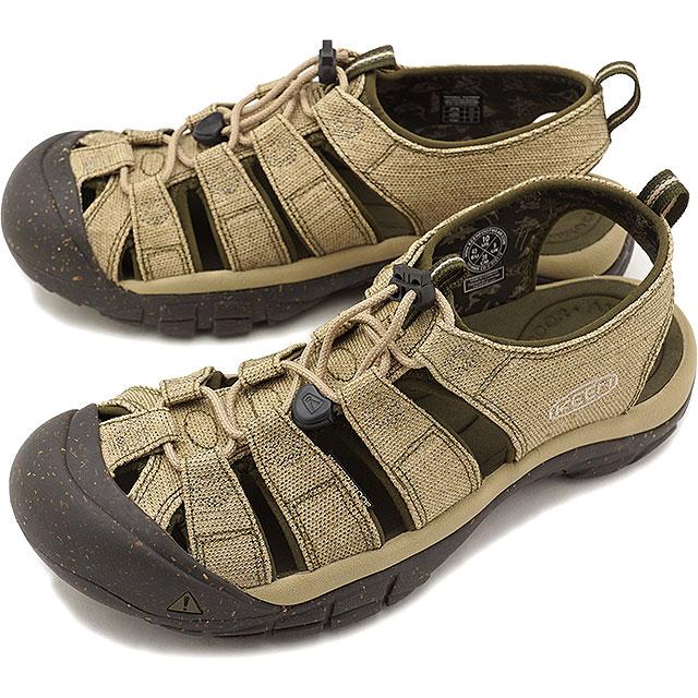 KEEN キーン サンダル 靴 メンズ M NEWPORT RETRO ニューポート レトロ Hemp/Dark Olive (1018809 SS18)【コンビニ受取対応商品】