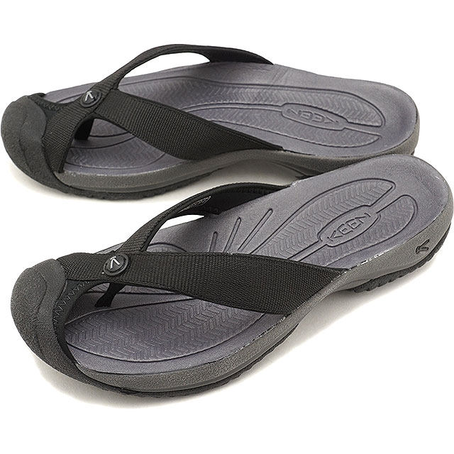 97d75d9095a KEEN Kean sandal men M WAIMEA H2 ワイメアエイチツー Black Steel Grey (1019210 SS18)