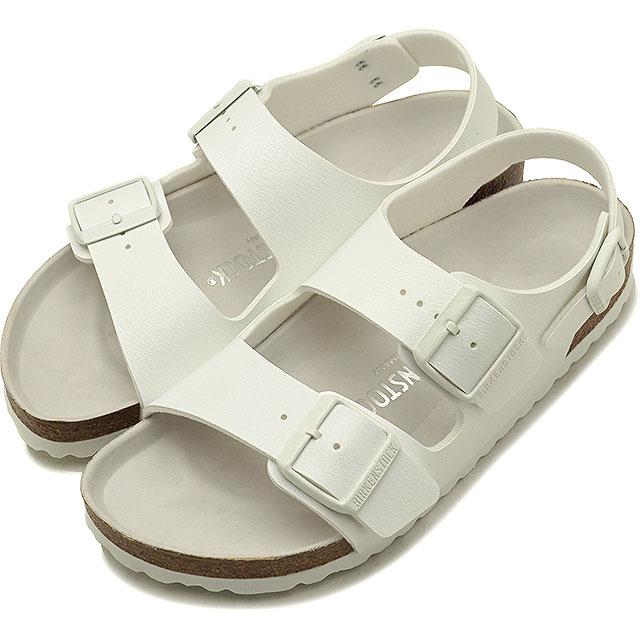 超人気高品質 【在庫限り】BIRKENSTOCK ビルケンシュトック サンダル サンダル (GC1008074 靴 メンズ ミラノ・レディース MilanoHEX ミラノ White/White (GC1008074 SS18)【ts】【コンビニ受取対応商品】, アイズコンタクト:94835e84 --- portalitab2.dominiotemporario.com