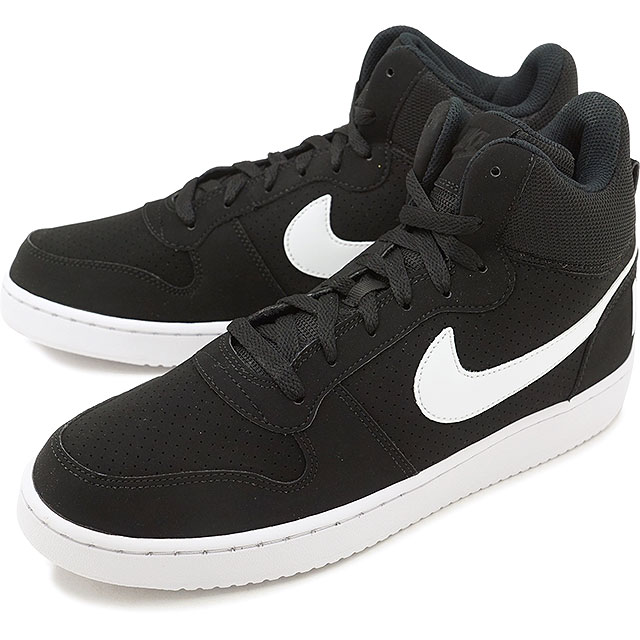 NIKE Nike men sneakers shoes COURT BOROUGH MID SL coat Barlow mid SL black    white (844,885-010 SU18) 44ec41f0ba