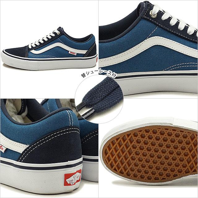 VANS vans Pross Kate sneakers shoes Old Skool Pro old school pro men navystv navywhite (VN000ZD40NS SS18)