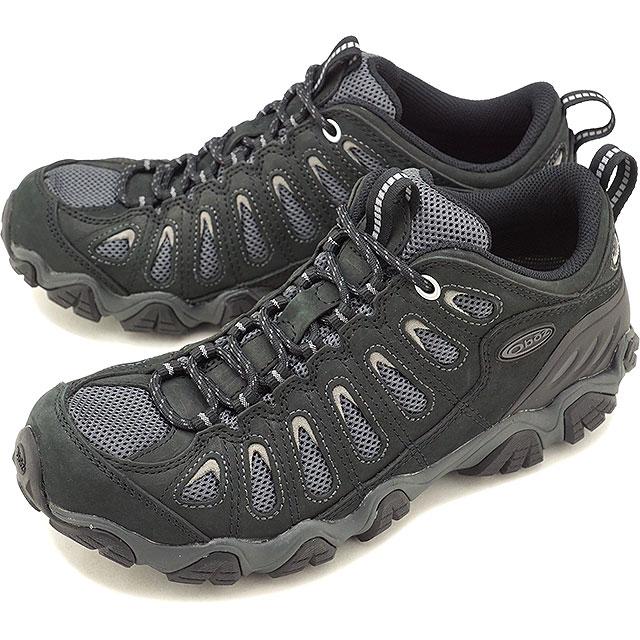 Oboz オボズ トレッキングシューズ MNS Sawtooth Low メンズ ソウトゥース ロー Black/Gray 靴 (20601 SS18)【コンビニ受取対応商品】