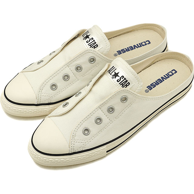 e107076ba9b CONVERSE Converse sneakers shoes Lady s ALL STAR S MULE SLIP OX all-stars  slim mule slip low-frequency cut white (32892880 SU18)