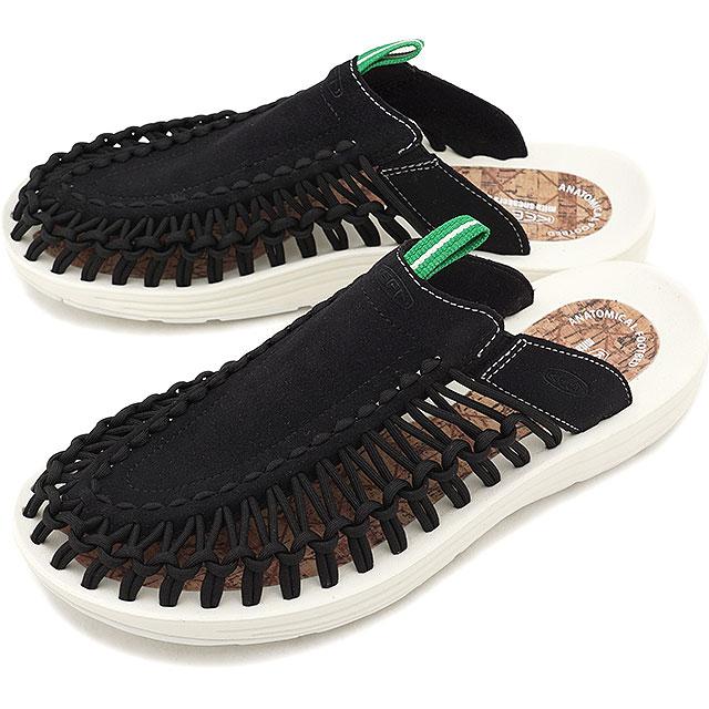48edfb2a8acf KEEN Kean unique sandal men M UNEEK SLIDE unique slide BLACK MS3 (1018703  SS18)