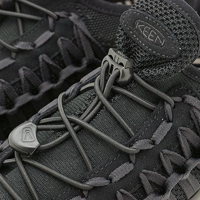 caa899134444 KEEN Kean unique sneakers shoes men M UNEEK EXO Uny kelp grouper shit  Triple Black (1019286 SS18)