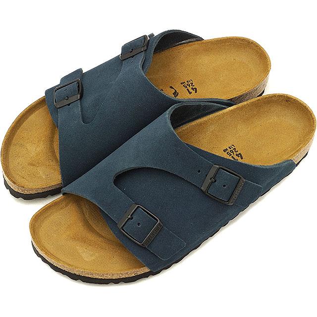 BIRKENSTOCK ビルケンシュトック サンダル 靴 メンズ・レディース Zurich チューリッヒ Blue (GC1010755 SS18)【コンビニ受取対応商品】