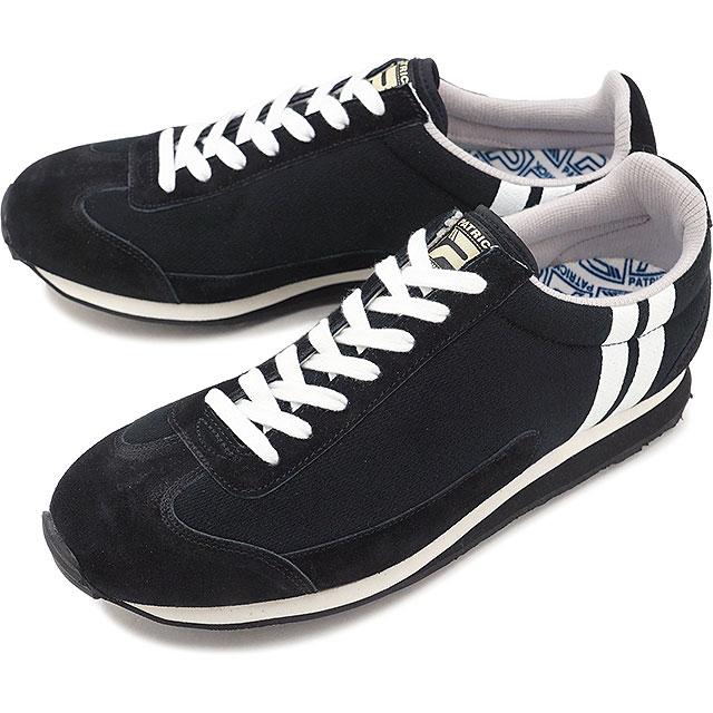 【即納】【返品送料無料】PATRICK パトリック スニーカー MIAMI-SW マイアミ・スウェット BLK メンズ 靴 (530261 SS18Q2)【コンビニ受取対応商品】