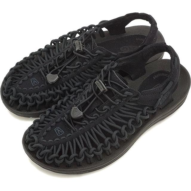 【5/1限定!カード&エントリー14倍】KEEN キーン レディース サンダル 靴 UNEEK 3C WOMEN ユニーク スリーシー Black/Black [1014099 SS16]
