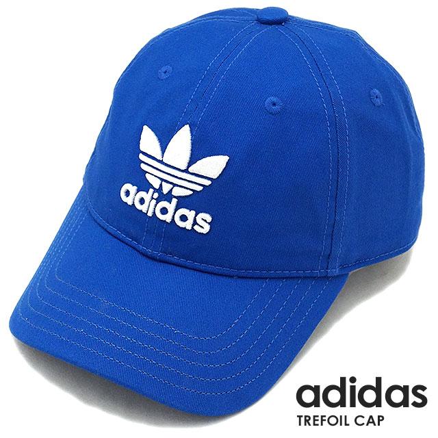 アディダスオリジナルストレフォイルキャップ adidas Originals TREFOIL CAP blue (MLH55 BK7271 SS18) 27ee8cbfd3a